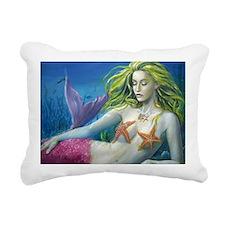 merm worked on landscape Rectangular Canvas Pillow