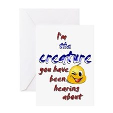 creature 001 Greeting Card