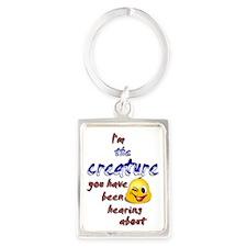 creature 001 Portrait Keychain