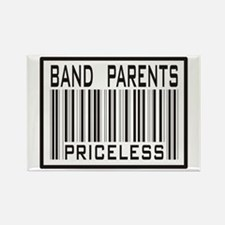 Band Parents Priceless Marching Rectangle Magnet