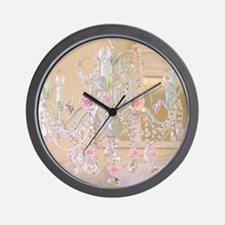 Shabby Chic Chandelier Wall Clock