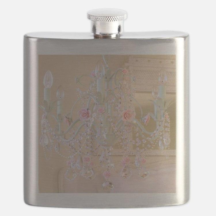 Shabby Chic Chandelier Flask