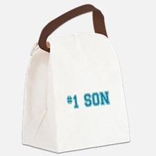 #1 Son Canvas Lunch Bag