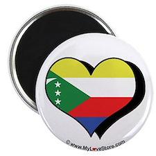 "I Love Comoros 2.25"" Magnet (100 pack)"