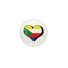 I Love Comoros Mini Button (100 pack)