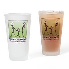 logo-PAmain-full-3 Drinking Glass