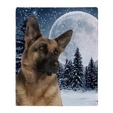 German shepherd Blankets