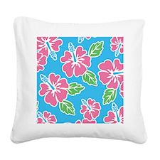 hawaiinflipflops Square Canvas Pillow