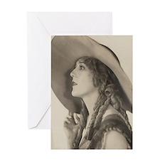 vintage starlet Greeting Card