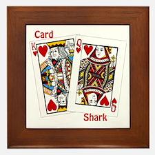 card shark Framed Tile