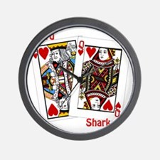 card shark Wall Clock
