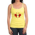 Canada Flag Maple Leaf Jr. Spaghetti Tank