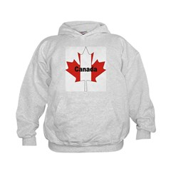 Canada Flag Maple Leaf Hoodie