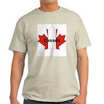 Canada Flag Maple Leaf Light T-Shirt