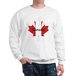 Canada Flag Maple Leaf Sweatshirt