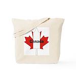 Canada Flag Maple Leaf Tote Bag