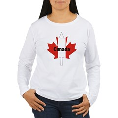 Canada Flag Maple Leaf T-Shirt