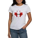 Canada Flag Maple Leaf Women's T-Shirt