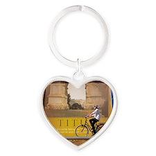 Titus w/effect Heart Keychain