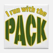 irun-with-the-pack2 Tile Coaster