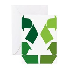 Upcycling Logo re-work 2 Greeting Card