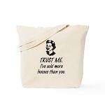 Trust Me Female Tote Bag