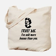 Trust Me Female Tote Bag