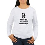 Trust Me Female Women's Long Sleeve T-Shirt