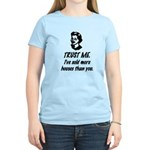 Trust Me Female Women's Light T-Shirt