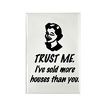 Trust Me Female Rectangle Magnet (10 pack)