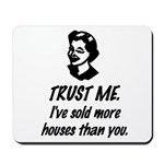 Trust Me Female Mousepad