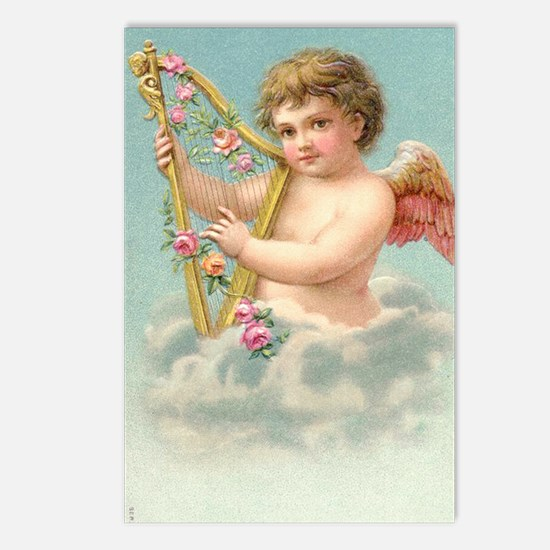 valentines cupid Postcards (Package of 8)
