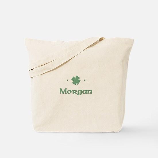 """Shamrock - Morgan"" Tote Bag"
