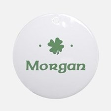 """Shamrock - Morgan"" Ornament (Round)"
