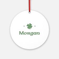 """Shamrock - Morgan"" Ornament (Round)"