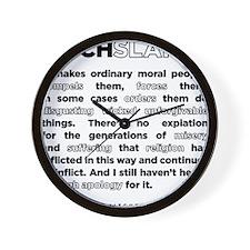 02backwhite Wall Clock