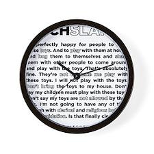 03backwhite Wall Clock