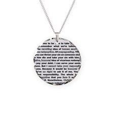 08backwhite Necklace
