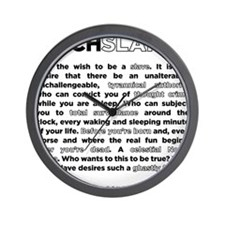 06backwhite Wall Clock