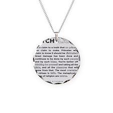 13backwhite Necklace