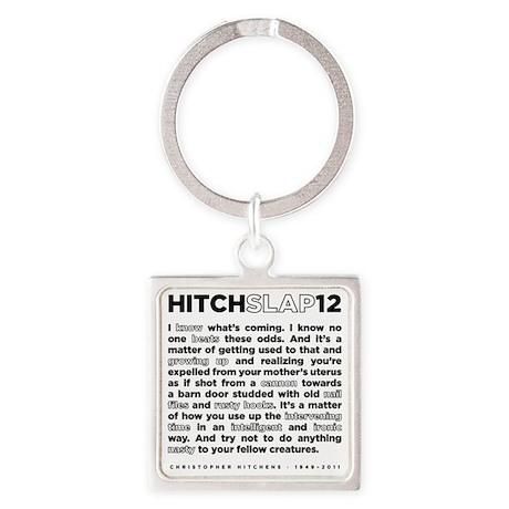 12backwhite Square Keychain
