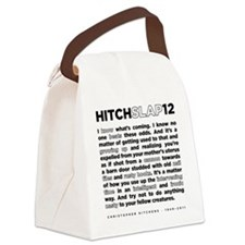12backwhite Canvas Lunch Bag