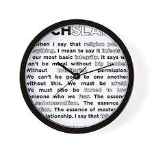 10backwhite Wall Clock