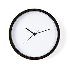back-01 Wall Clock