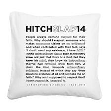 14backwhite Square Canvas Pillow