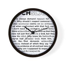 14backwhite Wall Clock