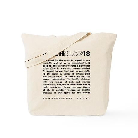 18backwhite Tote Bag