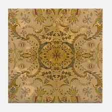 damask vintage Tile Coaster