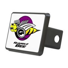 Rumble Bee blk png Rectangular Hitch Cover
