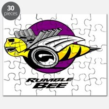 Rumble Bee blk png Puzzle